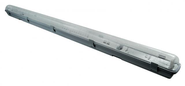 LED21 KOMPLET Prachotěsné svítidlo +1 LED trubice T8 22W 150cm Teplá bílá SM1150WW